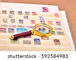 philately  stamps | Shutterstock . vector #592584983