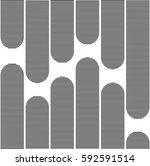 halftone screen triangle... | Shutterstock .eps vector #592591514