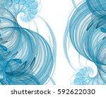 Pretty Fractal Spiral Element...