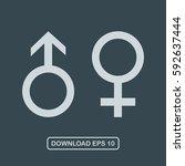 male and female symbol icon