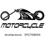 motorcycle icon | Shutterstock .eps vector #592708004