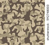 camouflage pattern background... | Shutterstock .eps vector #592748003