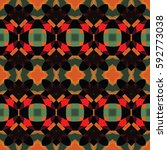 the geometric texture. boho...   Shutterstock .eps vector #592773038