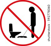 Do Not Soak In Place Wc Icon
