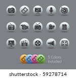 multimedia    pearly series     ...   Shutterstock .eps vector #59278714