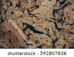 cork texture    Shutterstock . vector #592807838