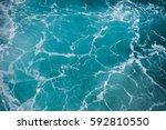 sea foam marble surface... | Shutterstock . vector #592810550