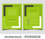 modern brochure template layout ... | Shutterstock .eps vector #592846028
