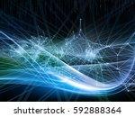 information tide series. design ... | Shutterstock . vector #592888364