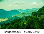 mountain view at chiangrai... | Shutterstock . vector #592892249