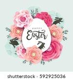 Elegant Easter Day Greeting...