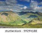 English Lake District Mountain...