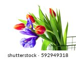 Spring Bouquet. The Image Is...