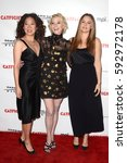"Small photo of LOS ANGELES - MAR 2: Sandra Oh, Anne Heche, Alicia Silverstone at the ""Catfight"" Los Angeles Premiere at the Cinefamily Theater on March 2, 2017 in Los Angeles, CA"