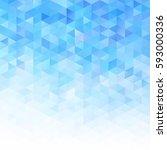 blue grid mosaic background ... | Shutterstock .eps vector #593000336