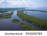 amazon river   Shutterstock . vector #593000789