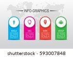 business infographics. timeline ...   Shutterstock .eps vector #593007848