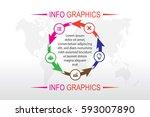 business infographics. timeline ...   Shutterstock .eps vector #593007890