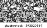 illustration of crowd... | Shutterstock .eps vector #593020964