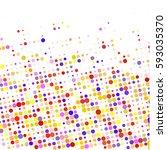 color halftone   Shutterstock .eps vector #593035370