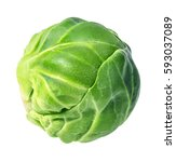 Brussels Sprouts Isolated On...