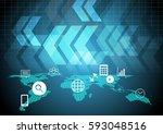 technology digital business...