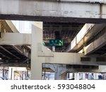 junction in japan    Shutterstock . vector #593048804
