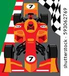 formula 1 race car   Shutterstock .eps vector #593062769