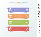 business  infographic  template ... | Shutterstock .eps vector #593069390