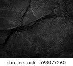 close up rocks. dark stone... | Shutterstock . vector #593079260