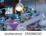 blurred background dentist and... | Shutterstock . vector #593088230
