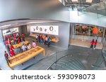 hong kong  china   december 4 ...   Shutterstock . vector #593098073