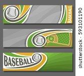 vector horizontal banners for... | Shutterstock .eps vector #593101190