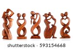 Wooden Figurines  Decorative...