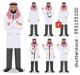medical concept. detailed... | Shutterstock .eps vector #593155100
