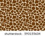 Seamless Giraffe Pattern....