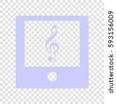 music player sign illustration. ...