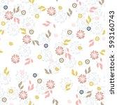 abstract vector seamless... | Shutterstock .eps vector #593160743