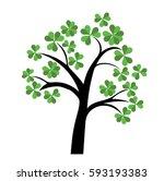 Vector Of St Patrick\'s Tree