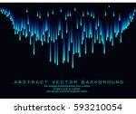 lines composed of glowing...   Shutterstock .eps vector #593210054