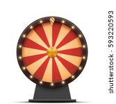 vector colorful wheel of... | Shutterstock .eps vector #593220593