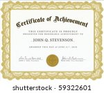 Vector Certificate. Easy To...