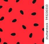 minimalist watermelon high... | Shutterstock .eps vector #593230310