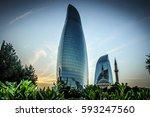 baku azerbaijan july 8 2016 ...   Shutterstock . vector #593247560