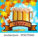 vector illustration of beer...