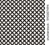 weave seamless pattern. stylish ... | Shutterstock .eps vector #593307494