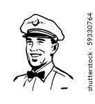 service man 2   retro clip art | Shutterstock .eps vector #59330764