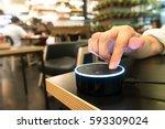 bangkok  thailand   fabruary 2  ... | Shutterstock . vector #593309024