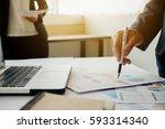 business concept. business... | Shutterstock . vector #593314340