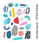 artistic creative universal... | Shutterstock .eps vector #593321666